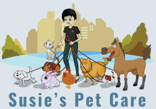 Susie's Pet Care Logo